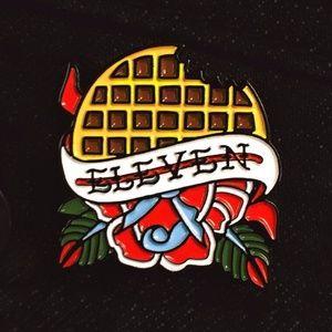 Stranger Things Eleven Enamel Pin